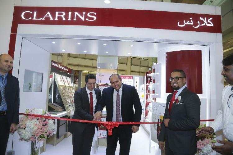 كلارنس افتتاح أول بوتيك في السعودية في برج المملكة