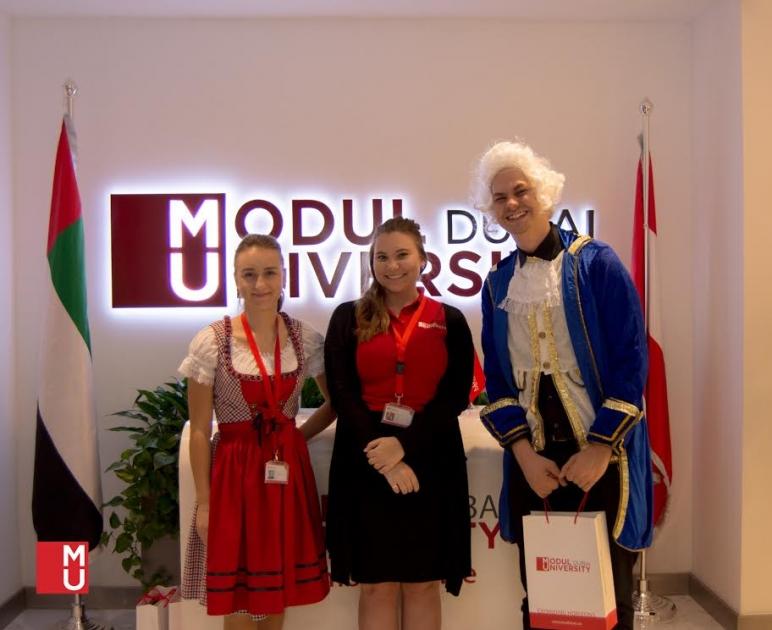Modul University Dubai Guarantees Paid Internships For Students At Getex 17