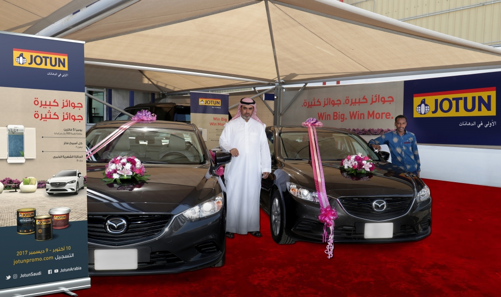 Jotun Campaign Grand Prize Winners Rewarded With Cars