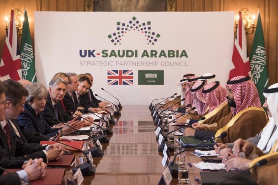 Britain, Saudi Arabia target £65bn trade, investment ties