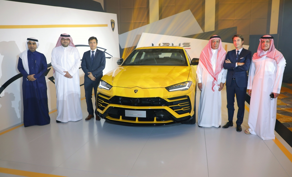 Lamborghini Jeddah Reveal The All New Lamborghini Urus