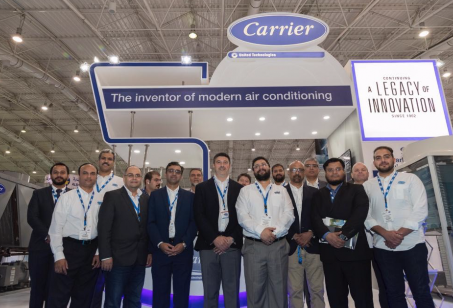 Carrier Exhibits State-of-the-Art Innovative Products