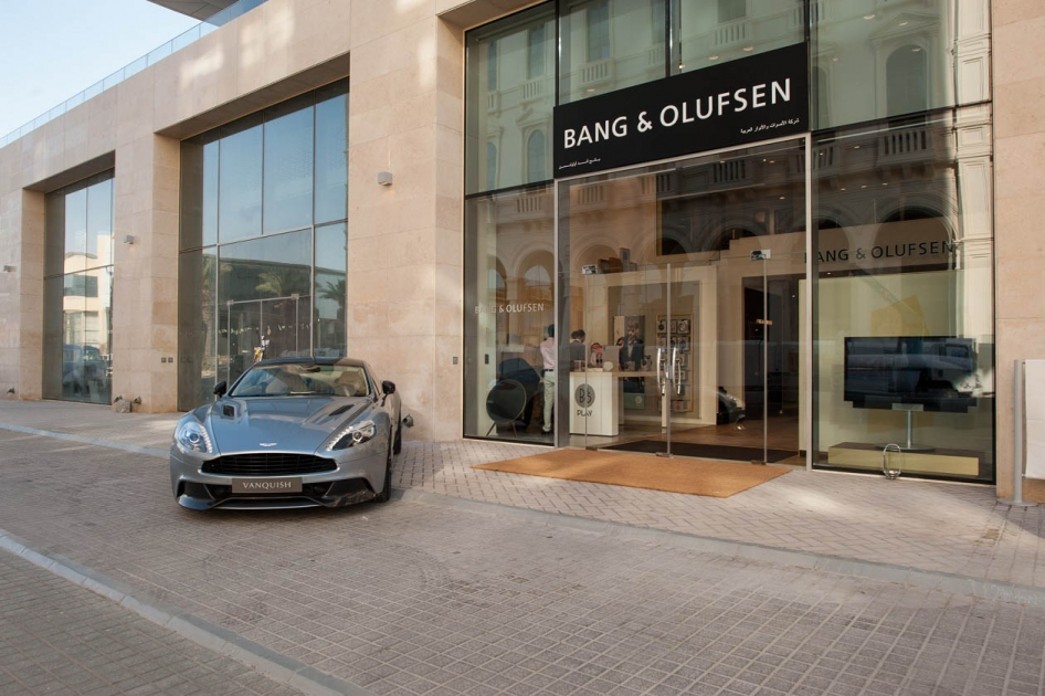 Arabian Sounds and Lights Company opens new Bang & Olufsen